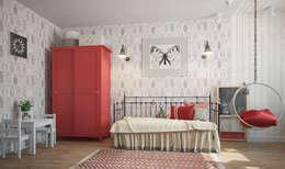 трехкомнатная квартира: Детские комнаты в . Автор – цуккини