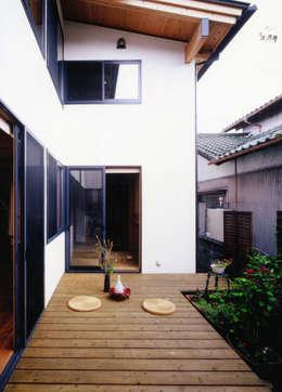 T設計室一級建築士事務所/tsekkei의  정원