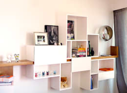 Meuble Eos: Salon de style de style Moderne par MAAD Architectes