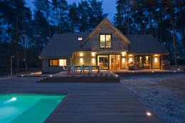 Maison ossature bois: Maisons de style de style Moderne par blackStones
