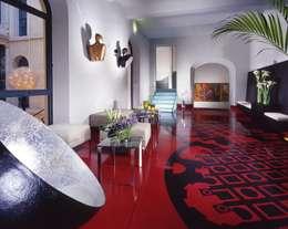 Hoteles de estilo  por laboratorio di architettura - gianfranco mangiarotti