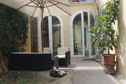 Abitazione in San Frediano, Firenze: Terrazza in stile di Studio Tecnico Progettisti Associati Ing. Marani Marco & Arch. Dei Claudia