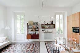 Salas de estilo  por Elena e Francesco Colorni Architetti
