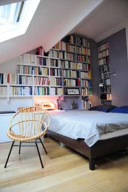 غرفة نوم تنفيذ Tony Lemâle Intérieurs