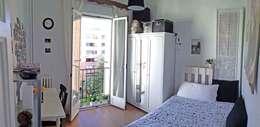 Dormitorios de estilo ecléctico por CarlosSobrinoArquitecto