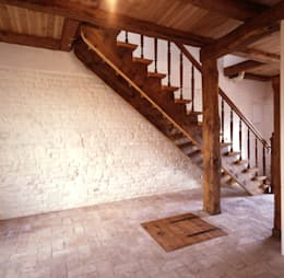 Treppe:  Flur & Diele von Gabriele Riesner Architektin
