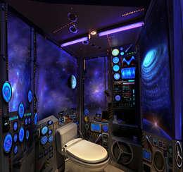 ausgefallene Badezimmer von Atelier Frederic Gracia