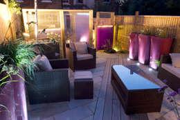 moderne Tuin door Earth Designs