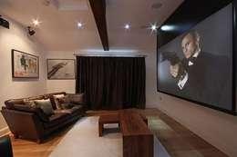 Медиа комнаты в . Автор – Inspire Audio Visual