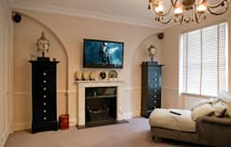 classic Living room by Inspire Audio Visual