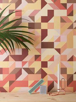 Pareti & Pavimenti in stile in stile Minimalista di Form Us With Love