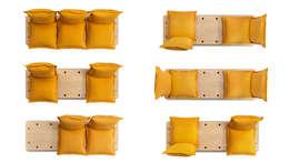 Salon de style de style Scandinave par Marco Gregori Architetto