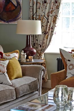 country Living room by Charlotte Crosland Interiors