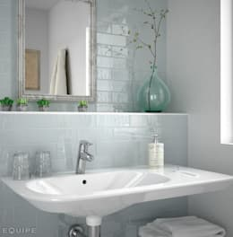 mediterranean Bathroom by Equipe Ceramicas