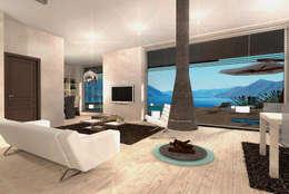 modern Houses by STUDIO RANDETTI - PROGETTAZIONE E DESIGN