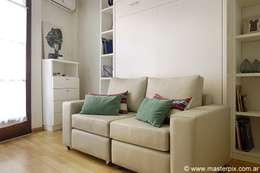 Living/Dormitorio: Estudio de estilo  por MINBAI