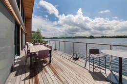 Terrasse de style  par Future Light Design