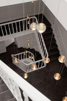 Corridor, hallway & stairs تنفيذ Future Light Design
