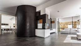 Vista del salone: Soggiorno in stile in stile Moderno di Studio 4e
