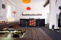 Küche/Teich:   von Luna Homestaging