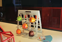 Fruittiera set: Cucina in stile in stile Industriale di Adele Rotella Design Studio