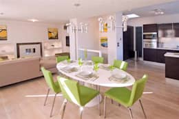 Sala da pranzo in stile in stile Moderno di Anna Hansson Design