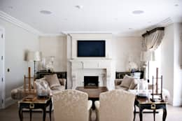 modern Media room by London Residential AV Solutions Ltd