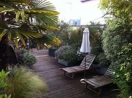 industriële Tuin door Cool Gardens Landscaping