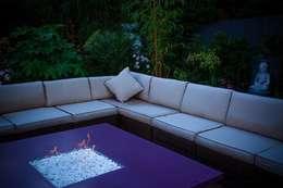 Jardin de style de style Tropical par Cool Gardens Landscaping