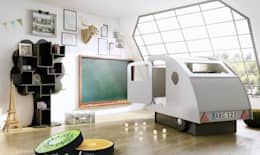Dormitorios infantiles  de estilo  por Cuckooland