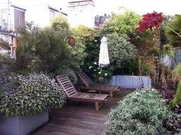 Jardines de estilo industrial por Cool Gardens Landscaping