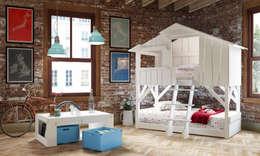 Habitaciones infantiles de estilo  por Cuckooland