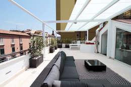 Casas de estilo moderno por Gimmigi Lab Architettura