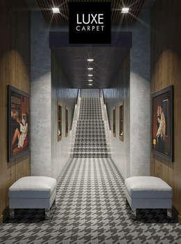 LUXEcarpet: modern tarz Duvar & Zemin