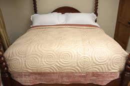 Luella Linen: asyatik tarz tarz Yatak Odası