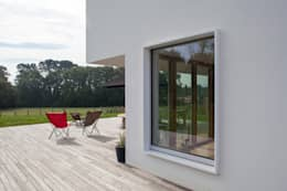 moderne Huizen door POLY RYTHMIC ARCHITECTURE