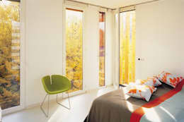 """Maison """"A vivre"""" Paris (19):  de style  par BECKMANN N'THÉPÉ ARCHITECTES"""