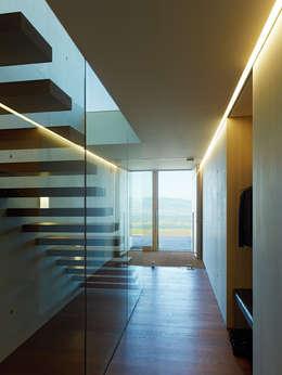 Pasillos y recibidores de estilo  por Dietrich | Untertrifaller Architekten ZT GmbH