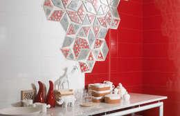 Walls & flooring by Porcelanite Dos