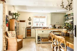 Cocinas de estilo rural por holly keeling interiors and styling