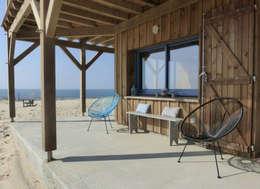 Projekty,  Gospodarstwo domowe zaprojektowane przez EURL Cyril DULAU architecte