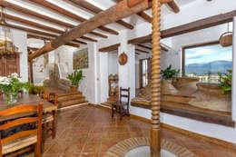 rustic Dining room by Espacios y Luz Fotografía