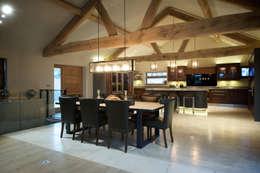 Barn Conversion: rustic Living room by Yorkshire Design Associates