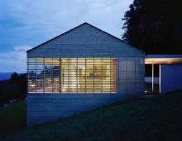 Haus A: moderne Häuser von Dietrich | Untertrifaller Architekten ZT GmbH