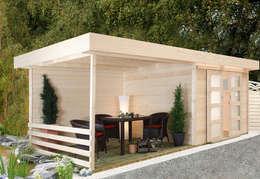 7 geniale ideen f r ein gartenhaus. Black Bedroom Furniture Sets. Home Design Ideas
