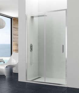 Baños de estilo moderno por MAMPARASYMAS ONLINE, SLU