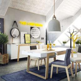 Redo Design Studio Radosław Nowakowski의  다이닝 룸