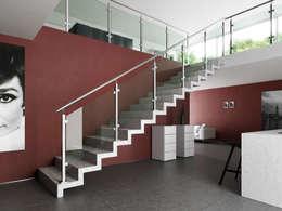 Balcones y terrazas de estilo minimalista por IAM Design