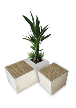 Jardín de estilo  por BETONIU GmbH