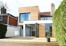 The Cube, Winchester: modern Houses by Adam Knibb Architects